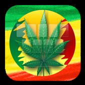 Weed Reggae Keyboard Theme icon