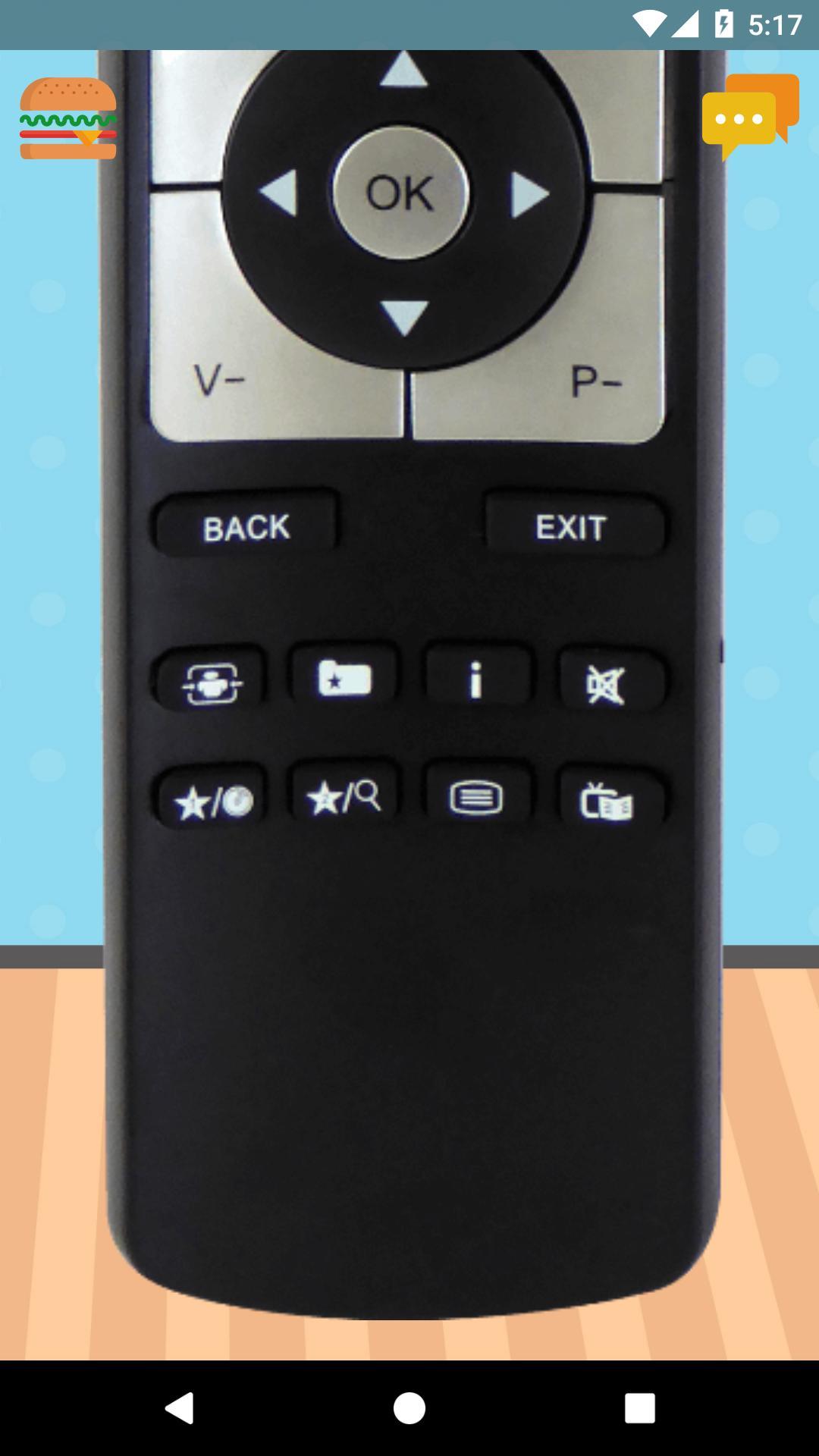 Remote Control For Telefunken TV 1