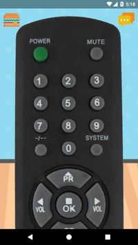 Remote Control For Zenith TV poster