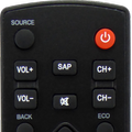 Remote Control For Sylvania TV