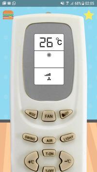 Universal AC Air conditioner Remote Control screenshot 4