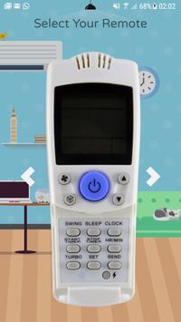 Universal AC Air conditioner Remote Control poster