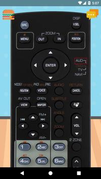 Remote Control For KENWOOD Car Radio poster