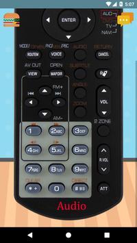 Remote Control For KENWOOD Car Radio screenshot 2