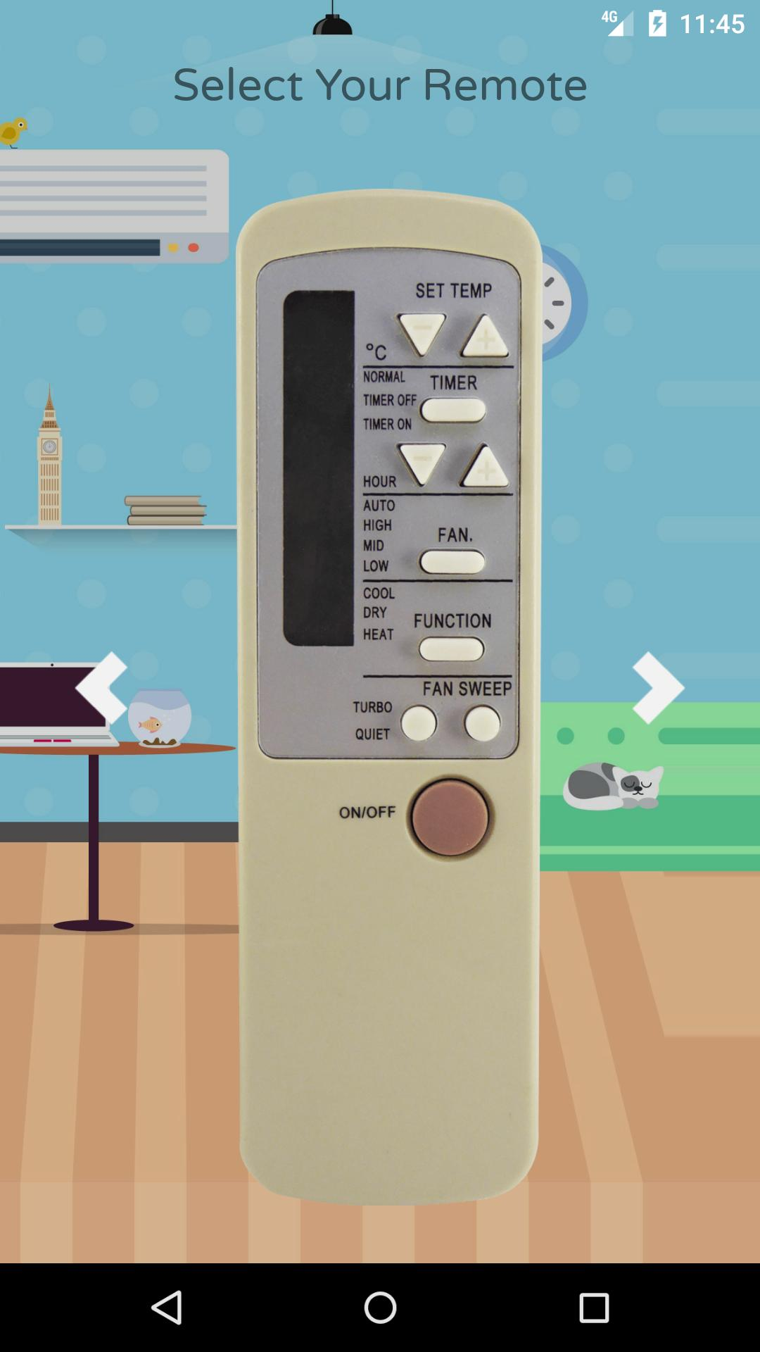 Remote Control For Haier Air Conditioner for Android - APK