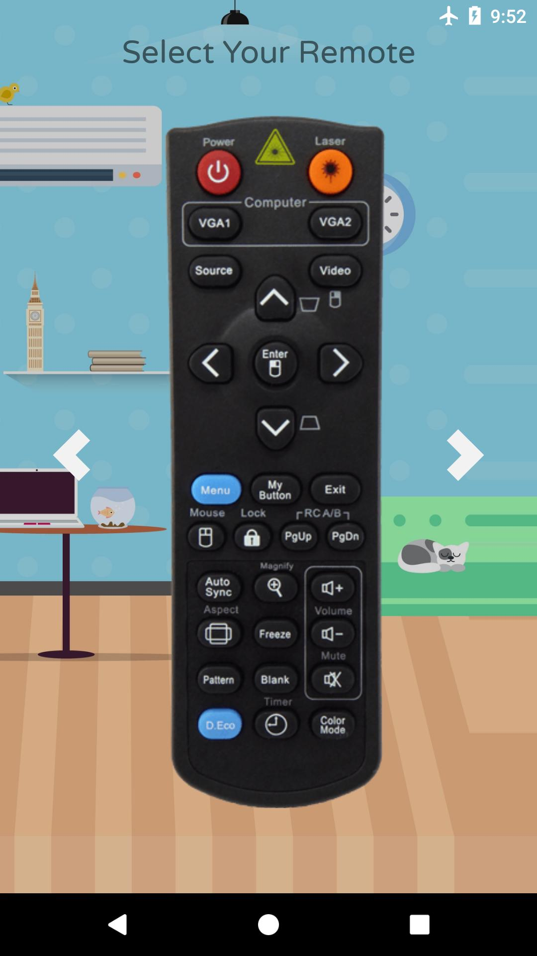 Remote Control For ViewSonic Projector for Android - APK