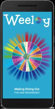 Weeloy Restaurant Booking App poster