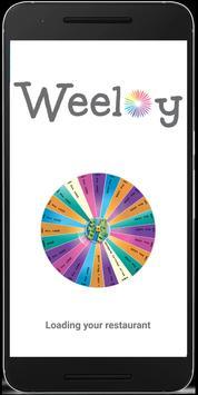 Weeloy For Restaurant Partner poster