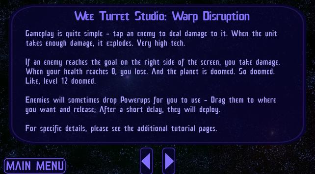 Warp Disruption screenshot 1