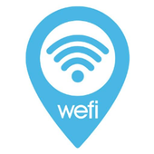 WeFi - Free Fast WiFi Connect & Find Wi-Fi Map icon