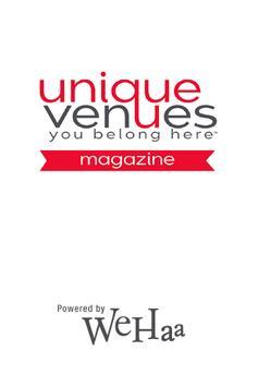 Unique Venues Magazine poster
