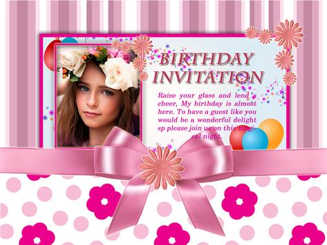 Cool birthday invitation maker apk download free lifestyle app for cool birthday invitation maker poster cool birthday invitation maker apk screenshot stopboris Choice Image