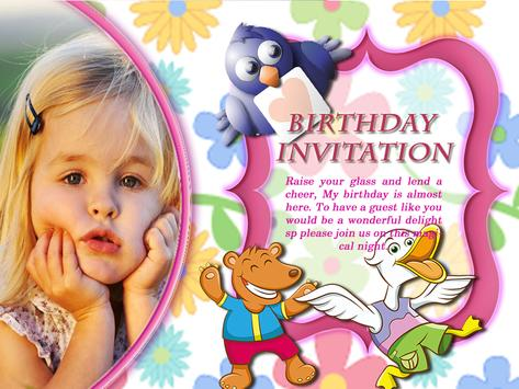 Cool birthday invitation maker apk download free lifestyle app for cool birthday invitation maker apk screenshot stopboris Choice Image