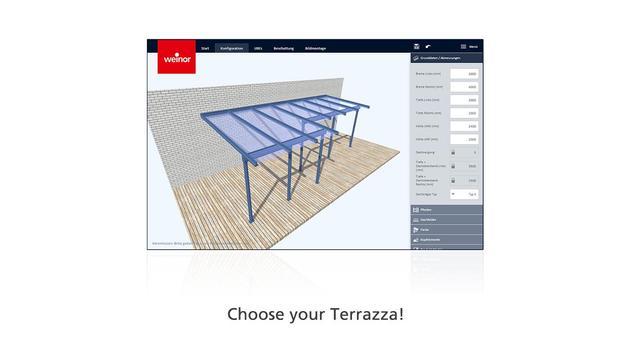 weinor 3D designer screenshot 5