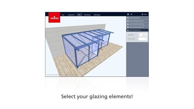 weinor 3D designer screenshot 1