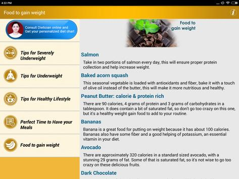Weight Gain Diet Plan Foods Apk Download Free Health Fitness