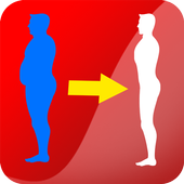 Weight loss, Calorie counter icon