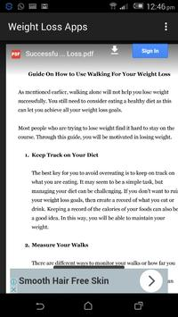 Weight Loss Apps - weight loss books for free screenshot 1