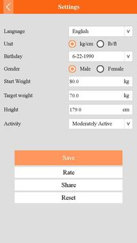 Weight Tracker screenshot 4
