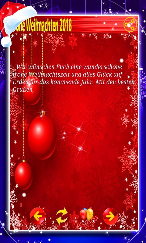 Wunderschöne Weihnachtsgedichte.Weihnachtsgrüße 2018 For Android Apk Download