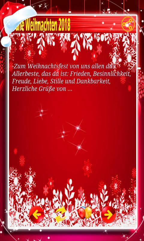 Weihnachtsgrüße Text.Weihnachtsgrüße 2018 For Android Apk Download