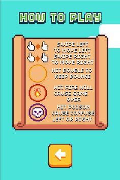 Bubble Bounce Bird screenshot 1