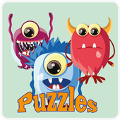 Kids Puzzle Monsters icon