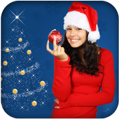 Lady Santa Photo Suit icon