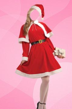 Lady Santa Photo Suit screenshot 1