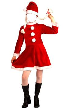 Lady Santa Photo Suit screenshot 2