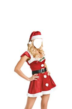 Lady Santa Photo Suit screenshot 5