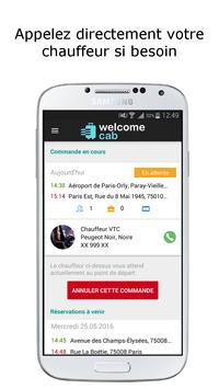 Welcome cab apk screenshot