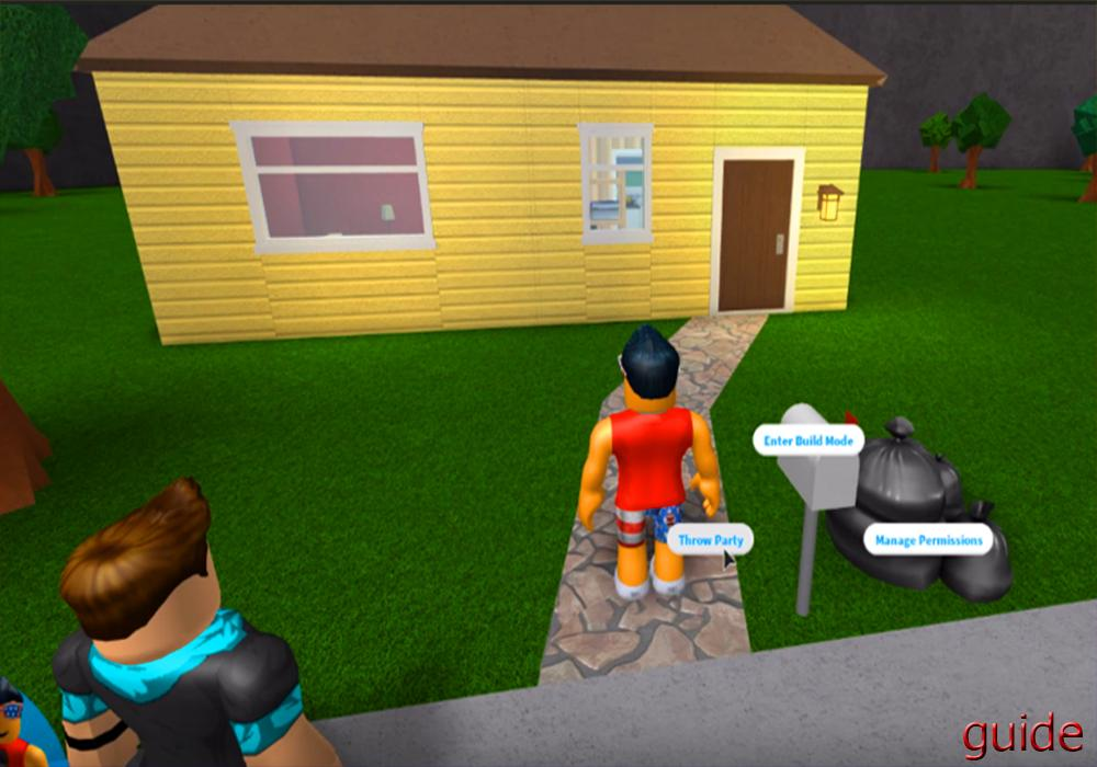 Tips For Roblox Welcome To Bloxburg For Android Apk Download