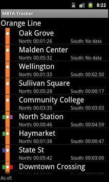 Orange Line Live MBTA Tracker poster