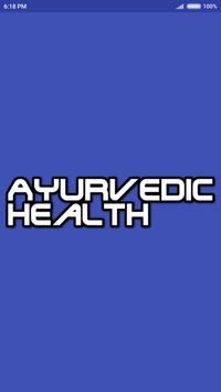 Ayurvedic Health poster