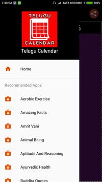 Telugu Calendar 2018 apk screenshot