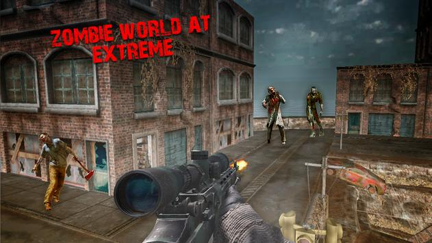 Zombie Sniper Rogue Assault apk screenshot