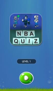 NBA Basketball Quiz Challenge poster