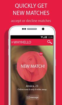 ... WhyHello - Local Casual Dating apk screenshot