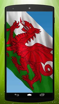 Welsh Flag Live Wallpaper poster