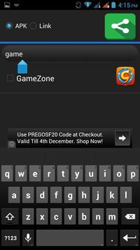 Apps Sharer screenshot 2