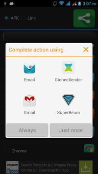 Apps Sharer screenshot 3