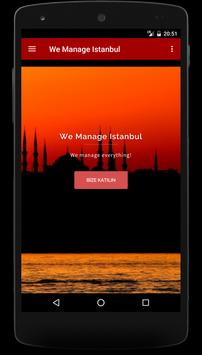 We Manage İstanbul poster
