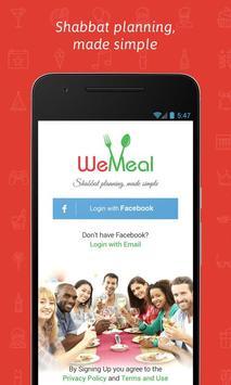 WeMeal - Shabbat App poster