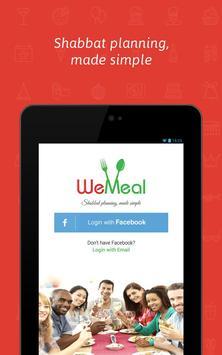 WeMeal - Shabbat App apk screenshot