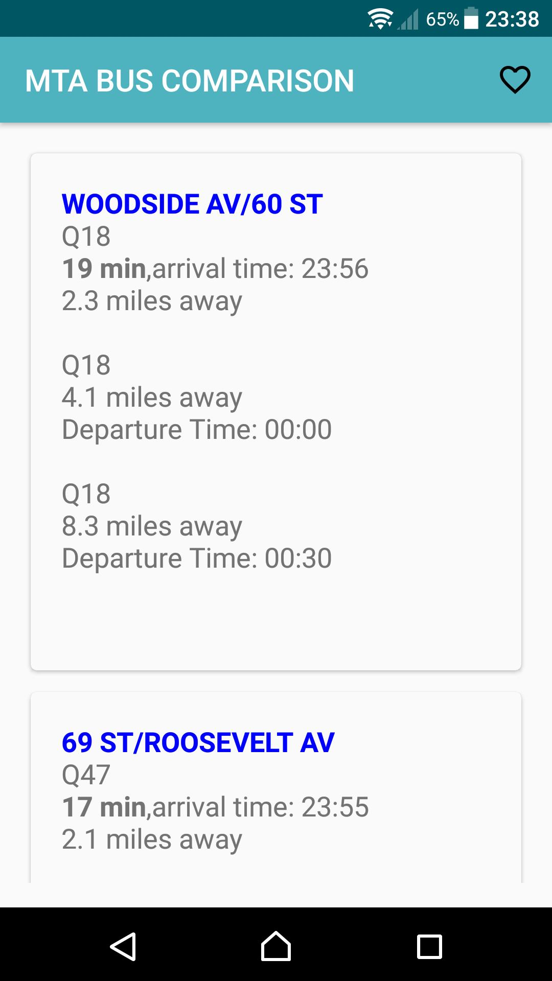 NYC MTA Bus Time for Android - APK Download Q Bus Map on