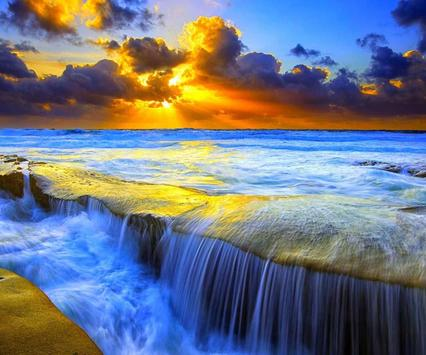 Waterfall Wallpaper Ringtone apk screenshot