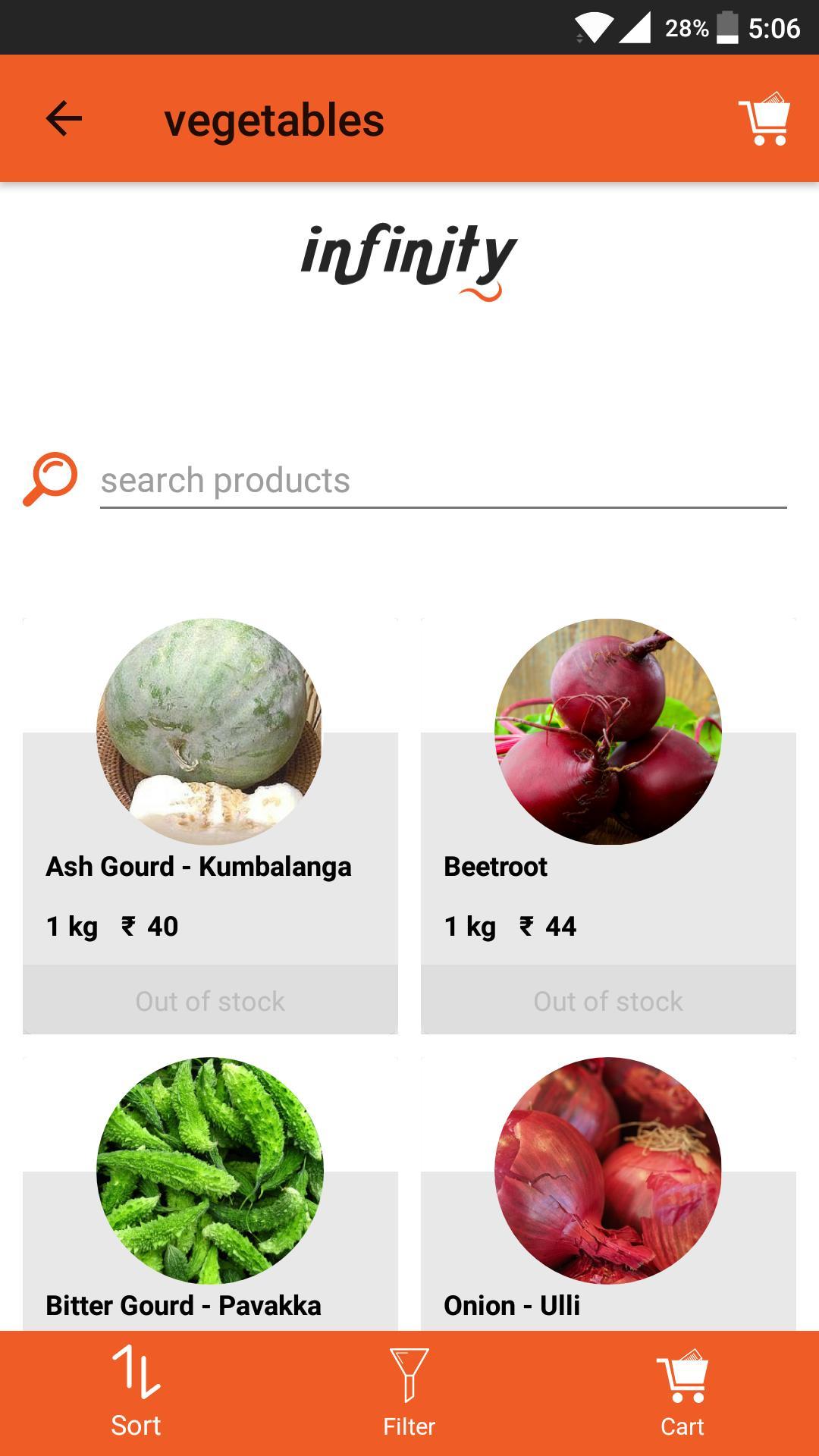 Shoppy Accounts Food