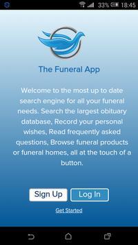 Funerals/Obits poster