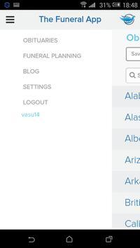 Funerals/Obits screenshot 4